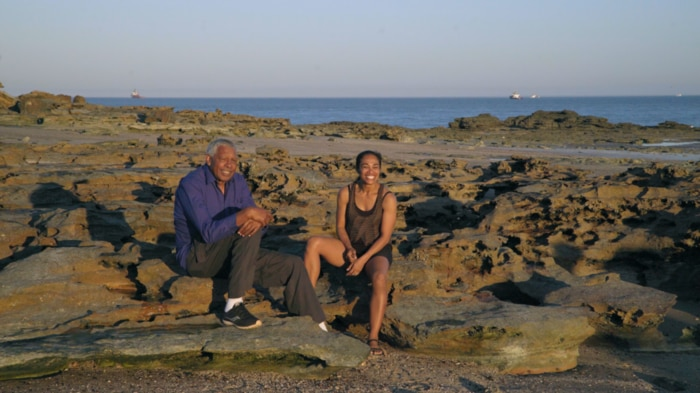 Ernie Dingo visits the locals in Broome on Season 3 of Going Places with Ernie Dingo