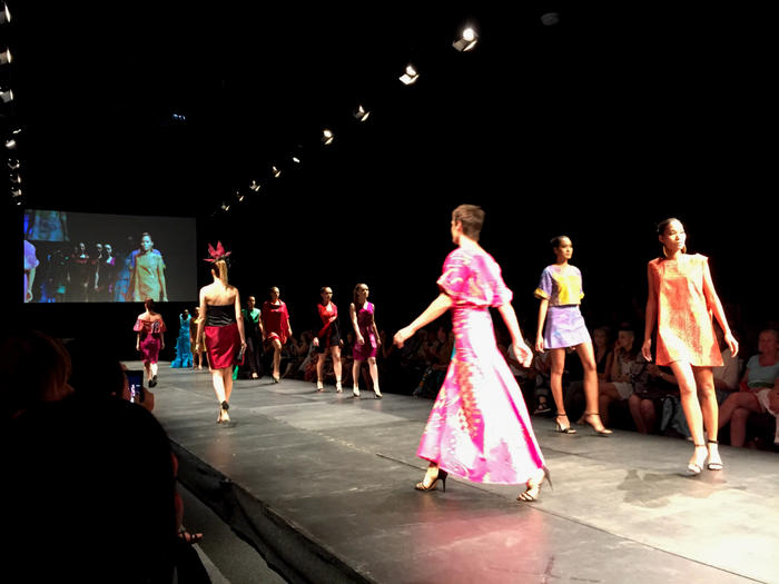 Country To Couture Aboriginal Art Hits The Catwalk Nitv