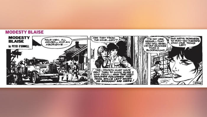 the west comic strip