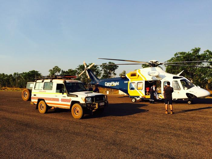 NT man stable after croc attack