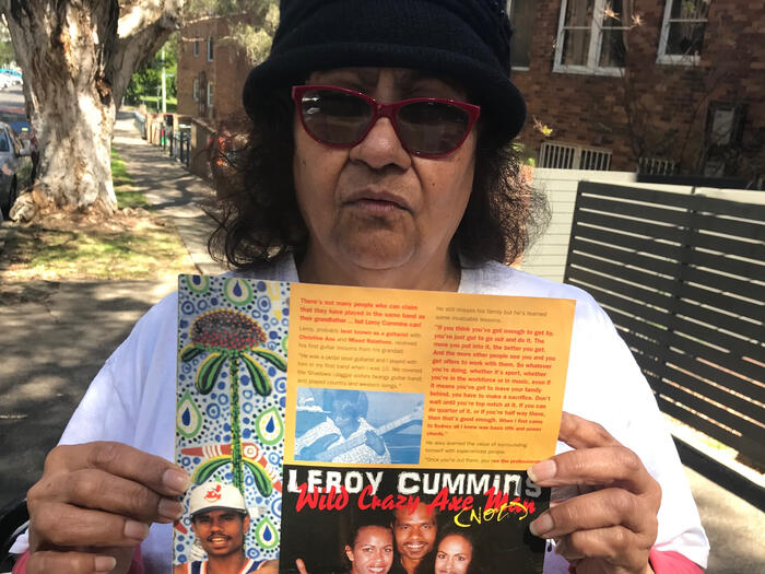 Marlene Cummins is concerned about whether her son Leroy contracted Covid-19 in Redfern at Parklea prison.