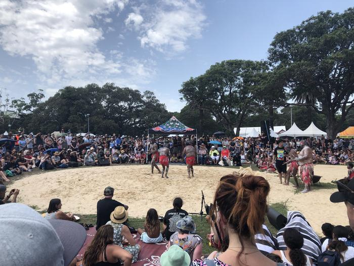 Yabun honours the survival of the world's oldest living culture.