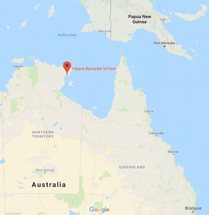 The small community of Yilpara in East Arnhem Land