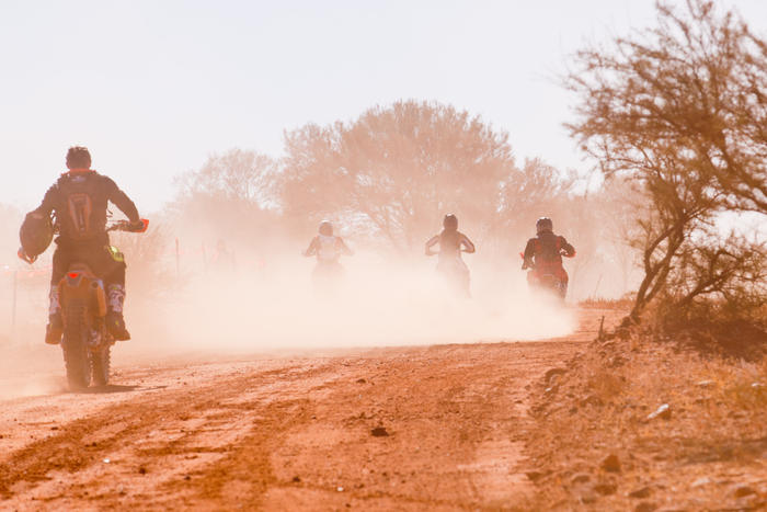 Finke:There and Back captures the 'Blood, sweat and tears shed across central Australia at the iconic Finke Desert Race, Australia's fastest and deadliest off-road motorsport event