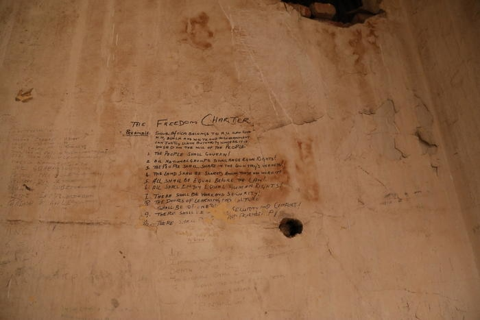 Freedom Charter at the Palace of Justice