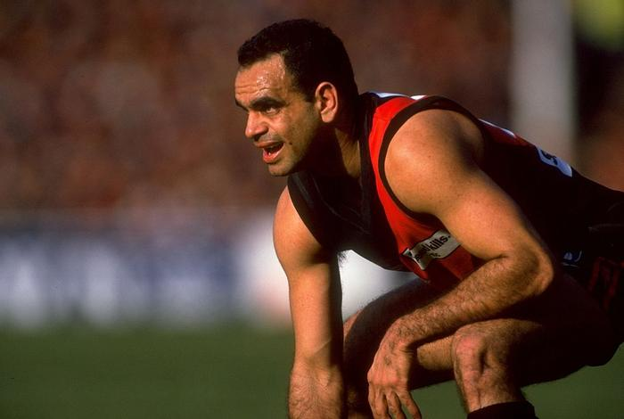 Michael Long of the Essendon Bombers