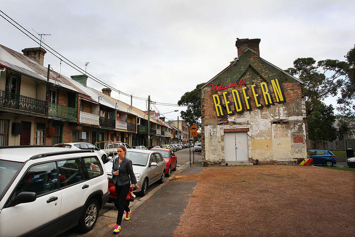 Welcome to Redfern Sign
