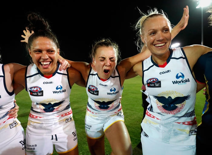 AFL Women's Rd 2 - Western Bulldogs v Adelaide Crows