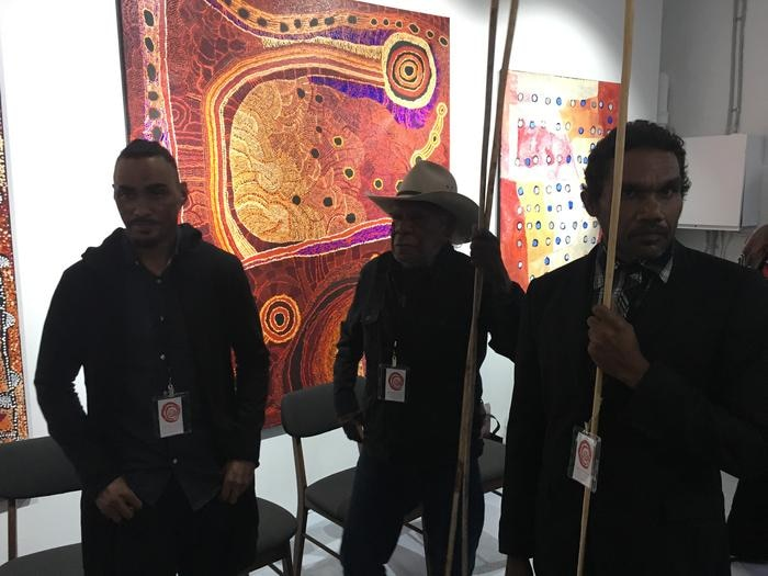 APY Gallery opening