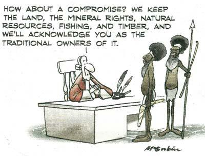 Land rights compromise