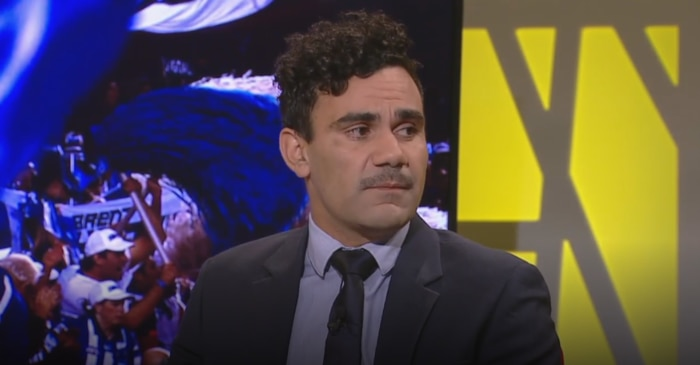 Lindsay Thomas on the Marngrook Footy Show