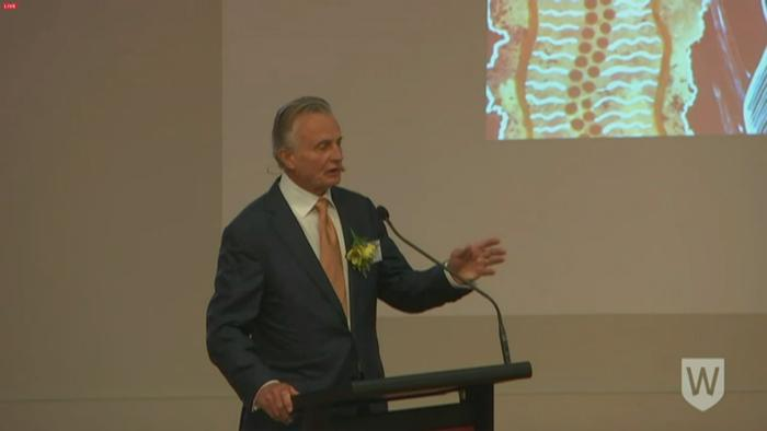 Jeff McMullen speaks at Yarramundi Lecture 2016.