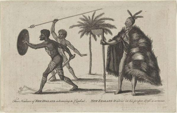 The Noble Savage of New Holland and New Zealand