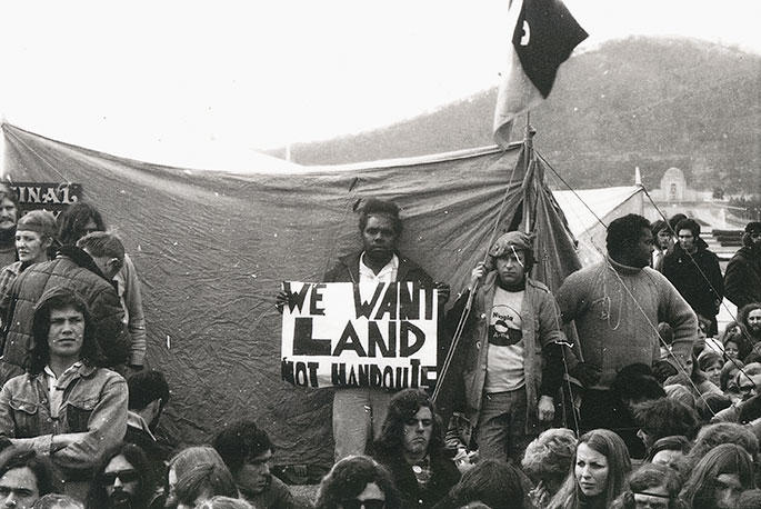 """""""We want land not handouts"""""""