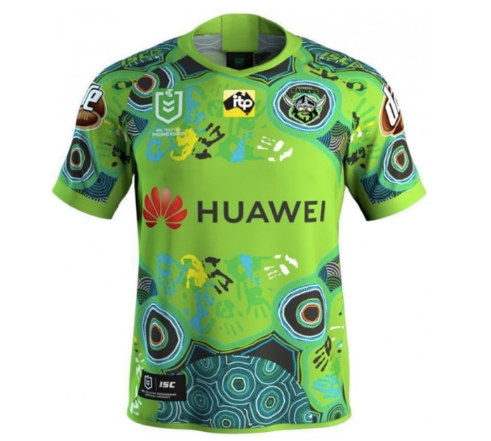 'The 2019 Canberra Raiders Indigenous jersey is a celebration of diversity and reconciliation. '