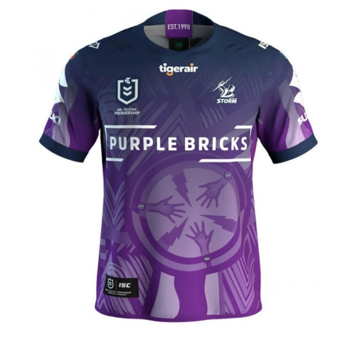 The 2019 Melbourne Storm design is about 'opportunity, relationships and respect.