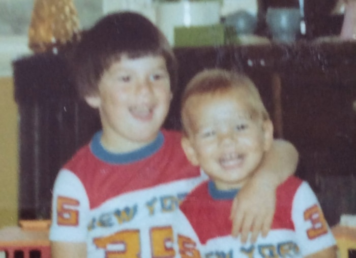 Jacob Boehme (right) and his big brother Luke.