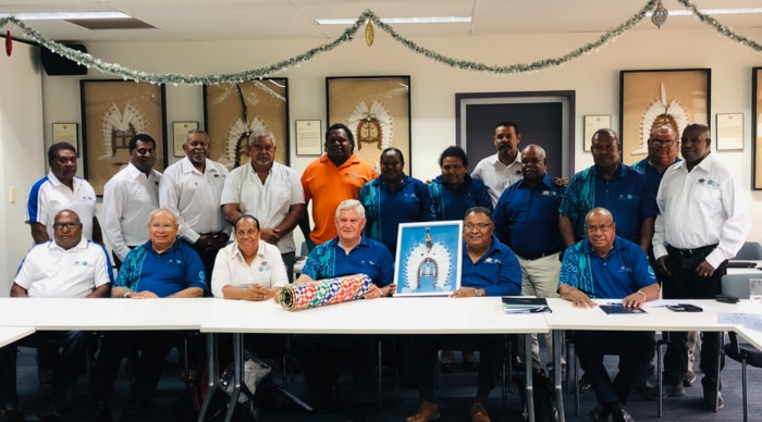 Minister for Indigenous Australians, Ken Wyatt, meets with the Torres Strait Regional Authority