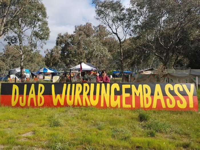 The Djab Wurrung Heritage Protection Embassy.