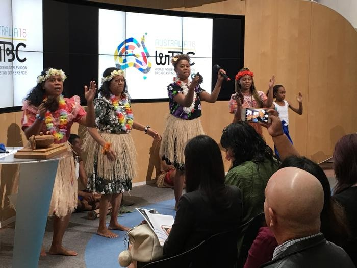 The opening concluded with a performance by Torres Strait Islander Dance group INDIG.