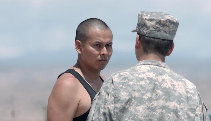 """Actor Jeremiah Bitsui plays Luther """"SickBoy"""" Maryboy in Drunktown's Finest"""