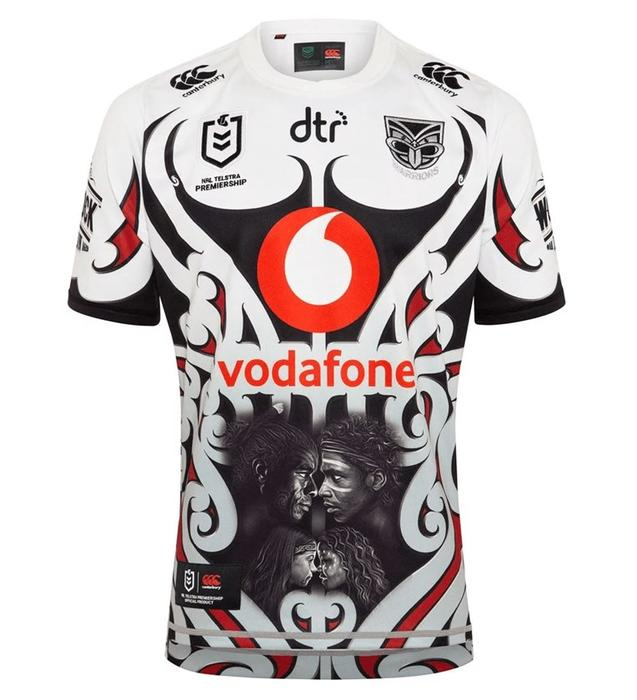 The Warriors Indigenous round jersey