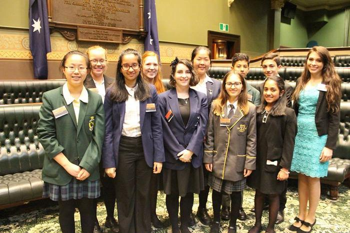 Members of the NSW Youth Parliament 2016