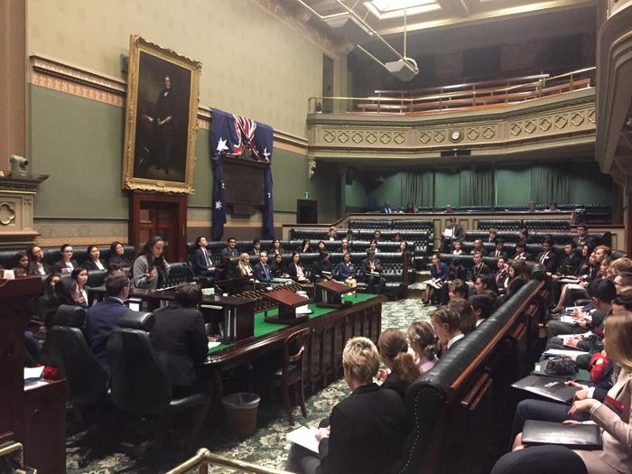YMCA NSW Youth Parliament kicked off today at NSW Parliament House