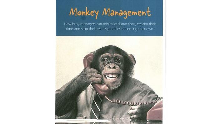 """whos got the monkey Oncken ppt page 1 """"managing management time who's got the monkey"""" william oncken jr."""