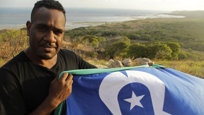 Aboriginal flag copyright controversy flutters across the Torres Strait
