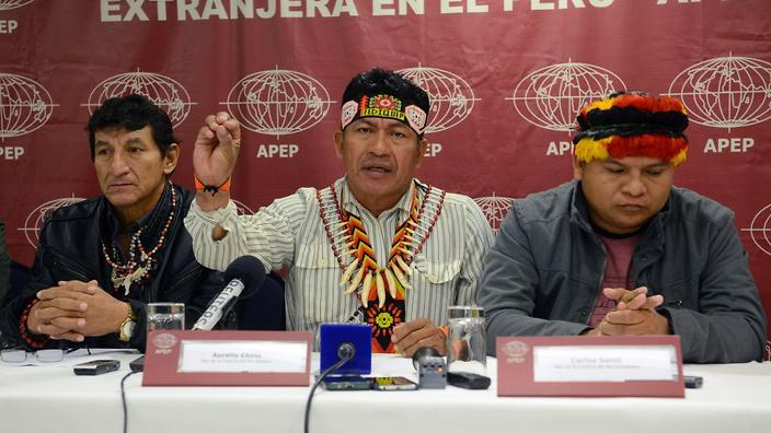 indigenous people seize facilities at peru oil field reports