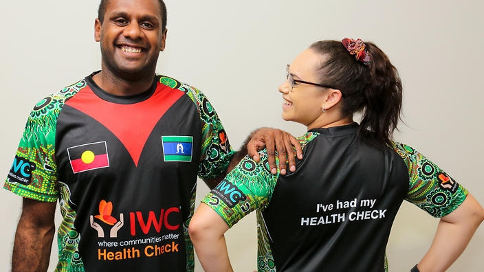 Charity health organisation slapped with hefty fee for showing Aboriginal flag on T-shirts