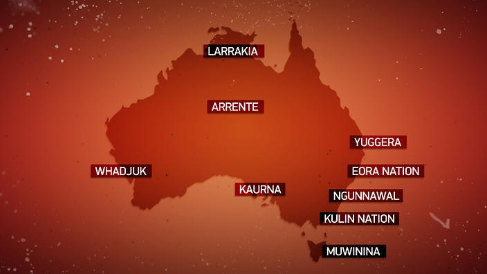 Do you know what Aboriginal land you're on today?