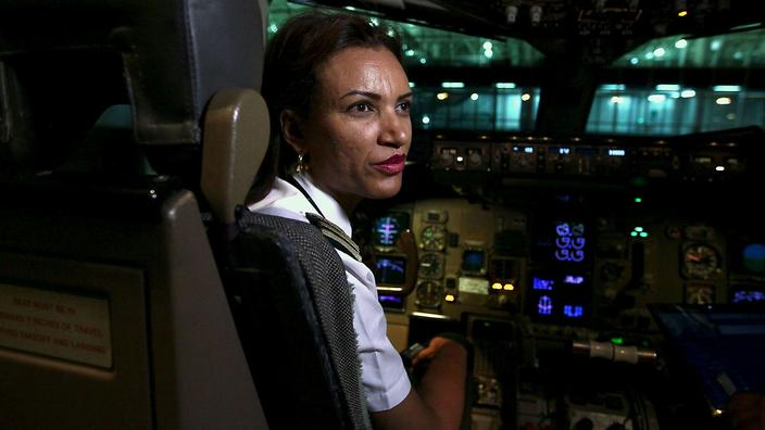 Air Ethiopia was composed of an all female crew