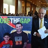 Prime Minister Malcolm Turnbull at the release of the 2016 Closing the Gap report