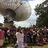 The Indigenous science camp on location at The Dish