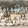 Marg and Mandy (front row, bottom left) school photo