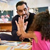 Adam Goodes is focusing his attention on closing the Indigenous literacy gap