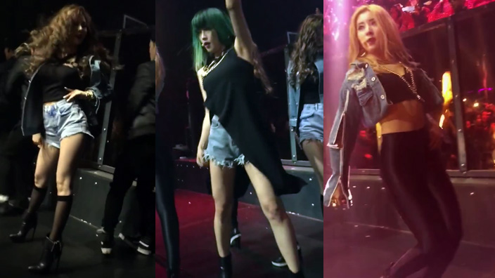 VIDEO: 4Minute perform unreleased song
