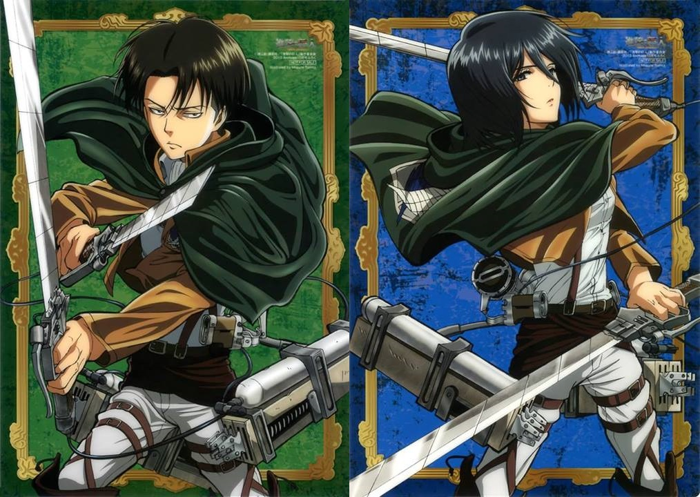 17 Best images about Levi and Mikasa OTP on Pinterest ... |Attack On Titan Levi And Mikasa