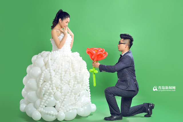 600 balloons and one lucky bride: Chinese man makes unique wedding ...