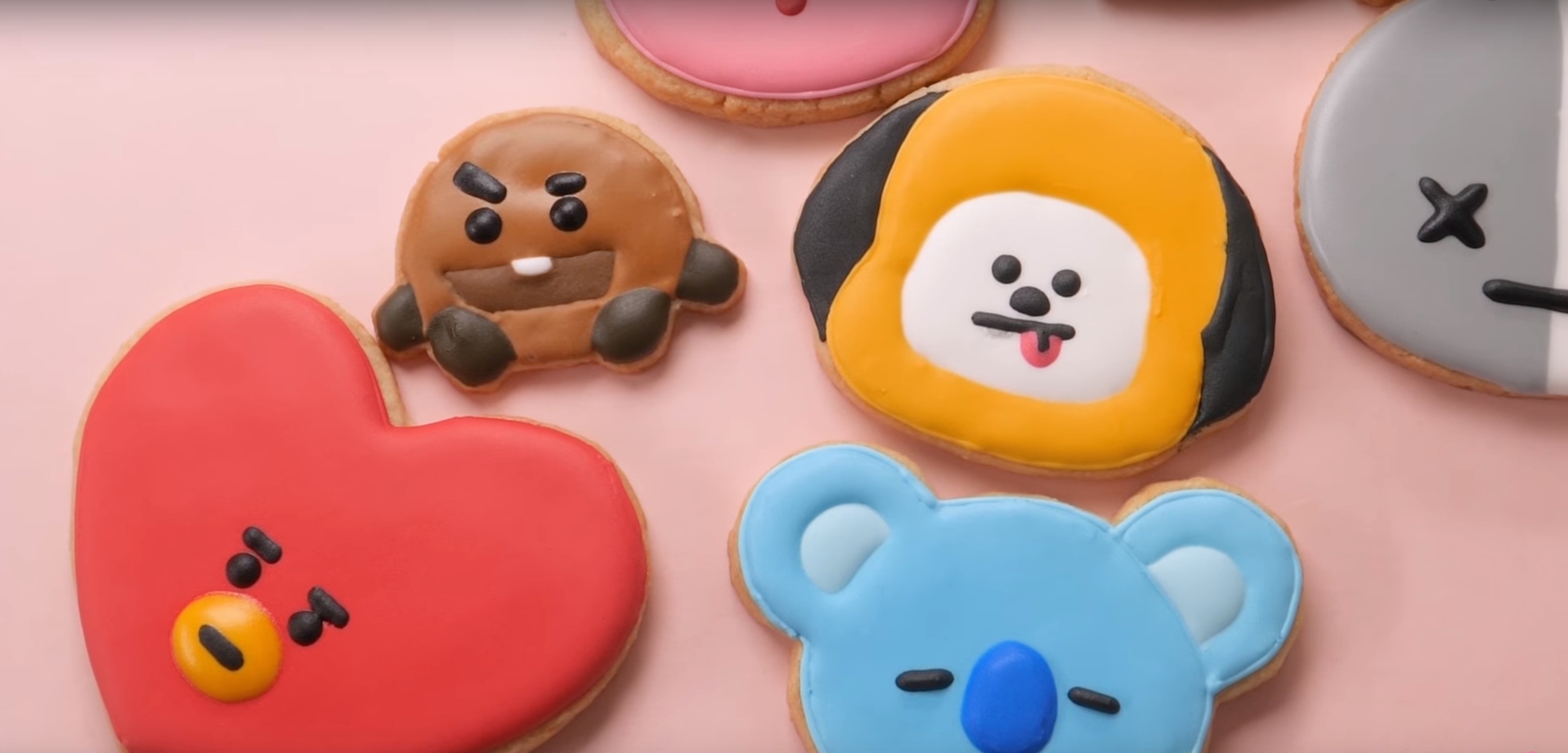Bake Bts Cookies And Ice Exo Cakes With These Recipes Sbs Popasia