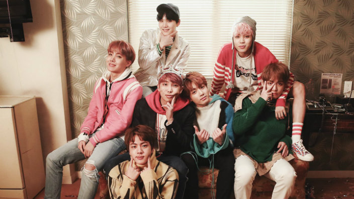 Bts have something mysterious planned today for their 2017 for Best group pictures