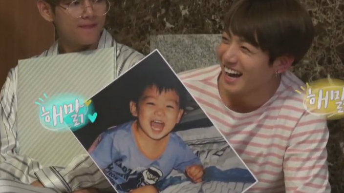 Bts Show Off Adorable Baby Photos Of Themselves Sbs Popasia