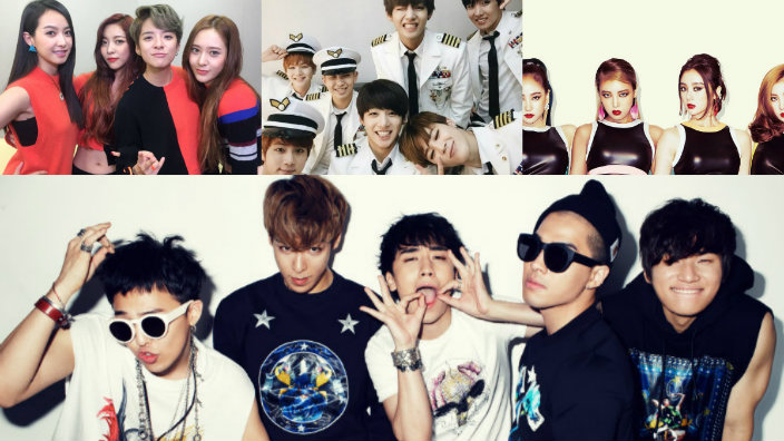 11 K-pop groups that nearly debuted under different names   SBS PopAsia