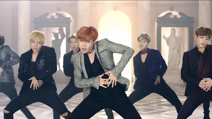 Image result for bts blood sweat and tears mv