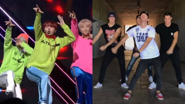The BTS inspired Go Go Challenge is the hottest new