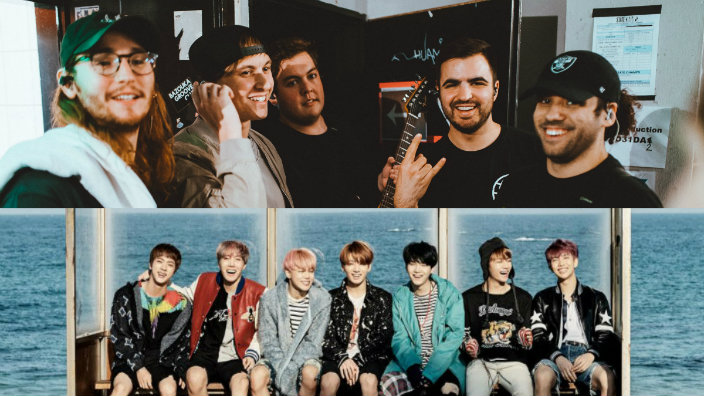 Bts Are Getting Love From American Pop Punk Bands From Charlie Puth To Kehlani Bts Have Been Getting Quite A Love From Western Artists Recently And The