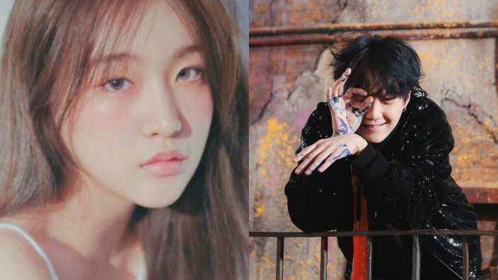 suran praises bts suga as a great and supportive friend