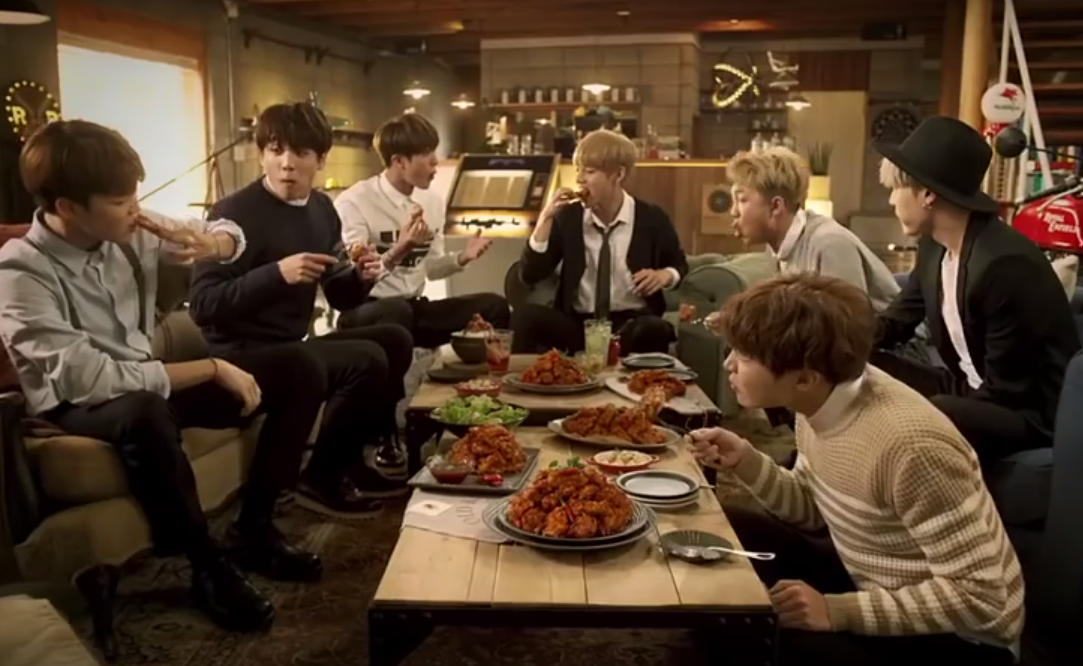 10 Of The Funniest Ads With K Pop Stars Sbs Popasia